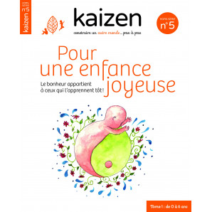 """Kaizen Hors-Série 5 """"Pour une enfance joyeuse"""""""