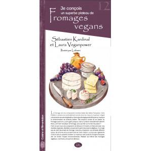 12 - Je conçois un superbe plateau de fromages vegans