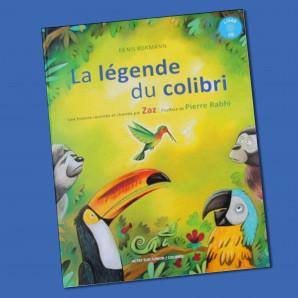 Livre CD La légende du colibri