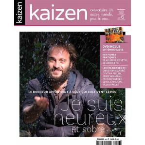"""Kaizen Hors-Série 6 """"Je suis heureux et sobre"""" + DVD"""