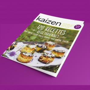 """Kaizen Hors-Série 4 """"120 recettes végétariennes"""""""