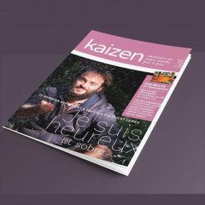 """Kaizen Hors-Série 6 """"Je suis heureux et sobre"""""""