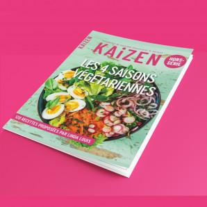 """Kaizen Hors-série : """"Les 4 saisons végétariennes"""""""
