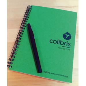 Lot 4 cahiers Colibris A5
